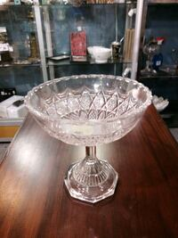 Victorian footed compote.  M12 Innisfil, L9S 3V9