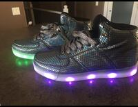 Brand New! Never Worn Size 7.5 Youth/Adult Light Up Shoes Kamloops, V1S 0A3