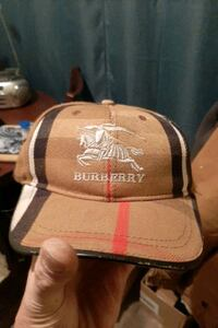 Burberry baseball cap brand new