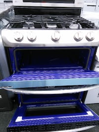 NEW LG Scratch and Dent Stainless gas range DOUBLE oven Beaverton