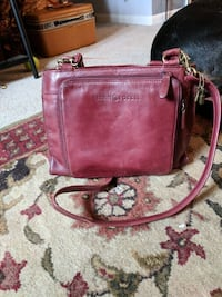 Maroon Fossil purse Independence