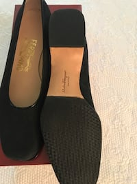 Black Salvador Ferragamo Ladies Shoes Chevy Chase, 20815