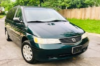 2001 Forest Green Honda Odyssey!! low Miles !! Silver Spring