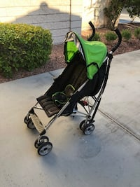 Baby's green and black stroller Henderson, 89052