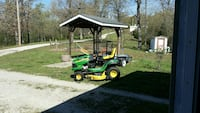 green ride-on lawnmower Branson, 65616