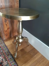 Round Side Table 15x22