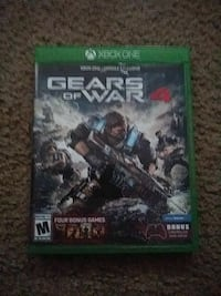 Gears Of War 4 Xbox one game case