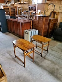 pair of solid wood side tables  Caledon, L7C 1Y9
