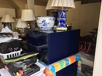 Blue end tables  (set of 2) Carlsbad, 92009