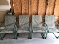 4 Patio Chairs Milton