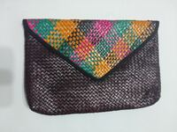 Large Hand-Woven Basket Weave Clutch Toronto