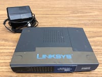 Linksys 8 port Network Switch 214 mi