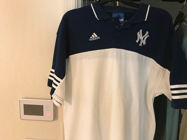 adidas new york polo shirt