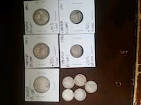 RARE CANADIAN SILVER QUARTERS AND DIMES  Oakville, L6H 6Y2