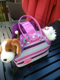 2 plush toys with a  purse Tallmadge, 44278