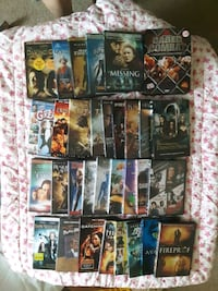 Tons of DVDs with even series