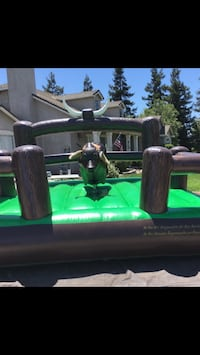 Mechanical bull and bounce house rentals etc Modesto