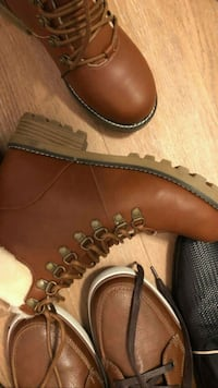 brown leather work boot with box Gatineau, J8Y 4C6