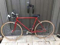 red and black road bike Toronto, M9M 1Y2
