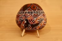 Hand Carved Peruvian Gourd Ornament  Springfield, 22150