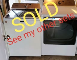 ~•>Exclusive Maytag Quality Washer Dryer