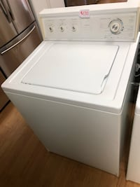 White Kenmore Top Load Washer 47 km