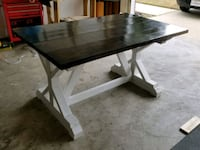 rectangular brown and white wooden table Fayetteville, 28304