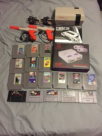 NES and SNES set Irving, 75038