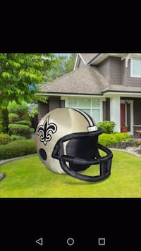 Giant 4ft saints Inflatable helmet Shreveport, 71105