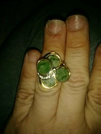 Vintage 14k plated gold ring Cantonment, 32533