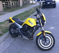 2001 Buell Blast 500 cc Motorcycle - LOW KMS Vancouver, V6K