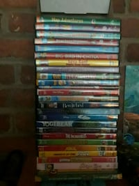 24 various kids DVDs  Fairfax, 22030