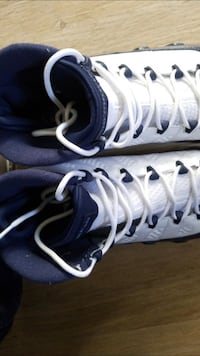 White/University Blue/Midnight Navy Jordan 9 Vallejo, 94590