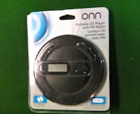 Onn portable cd player Montreal East, H1E 3L1