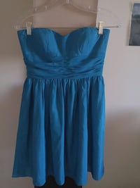 Blue strapless dress Silver Spring, 20910