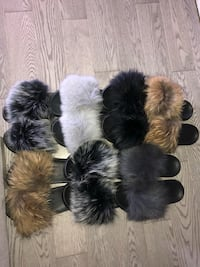 Fur slippers Toronto, M4N 3M5