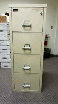 Fire King - 4 drawer cabinet Virginia Beach, 23462