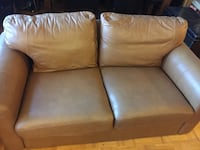 2 and 3 seats leather couch set Toronto, M4S