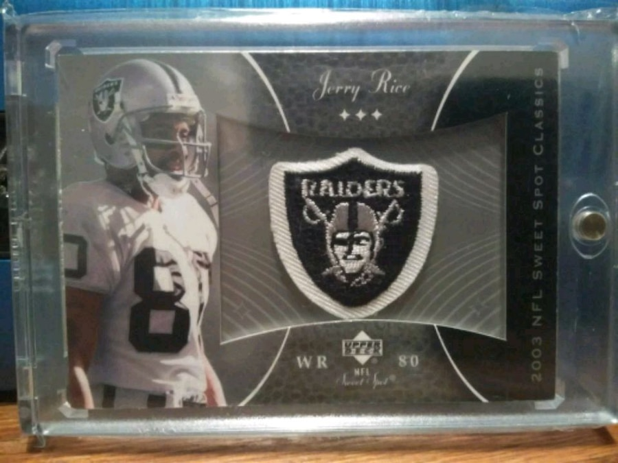 black and white Oakland Raiders football for sale  Kingsburg