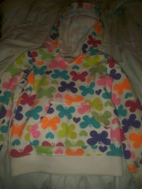 Size 4t toddler girl hoodie! Reading