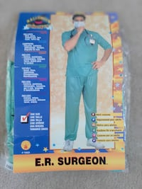 ER Surgeon Costume Oakville