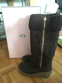 JUICY COUTURE SIZE 9 BROWN WINTER BOOTS Laval, H7G 5M2