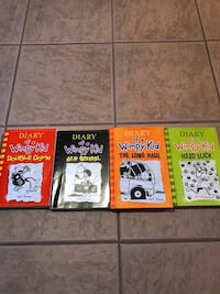 SELLING DIARY OF A WIMPY KID BOOKS! Toronto, M6E 1T1