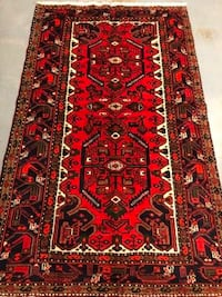 Authentic New hand knotted Persian Hamadan rug 4' X 7' Laurel