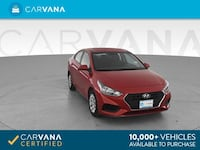 2018 *Hyundai* *Accent* SE Sedan 4D sedan RED Brentwood