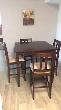 Very gently used table. One year old. Bought a bigger table. Must go.  Westfield, 46062