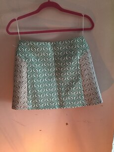 Topshop Geometric A-Line Skirt for sale  Clarksville, MD