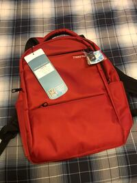 Red tigern anti theft back pack
