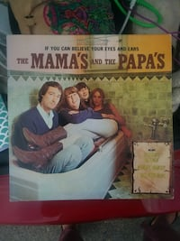The Mamas and the Papas Record-used
