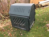Green compost bin, used. Piscataway, 08854
